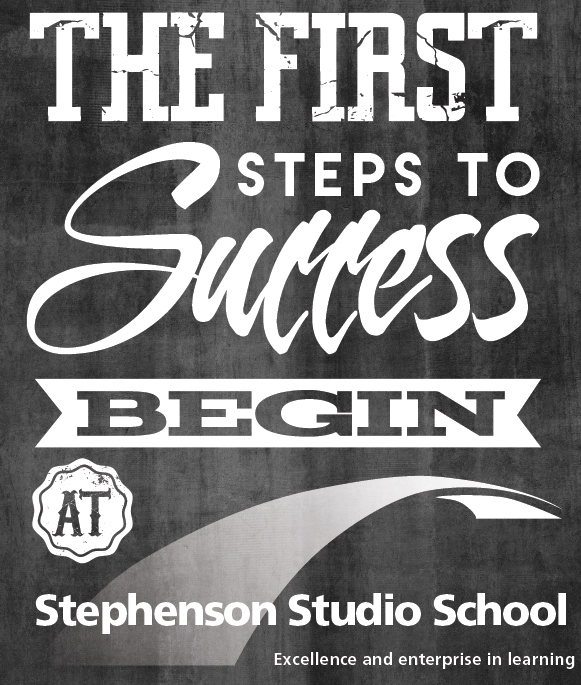 The first steps to success logo